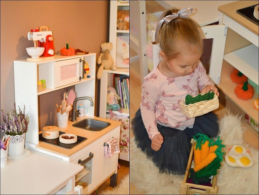 Play kitchen and Pretend Food 8