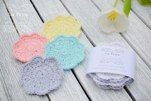 Zero Waste Natural Handmade Face scrubbies 3