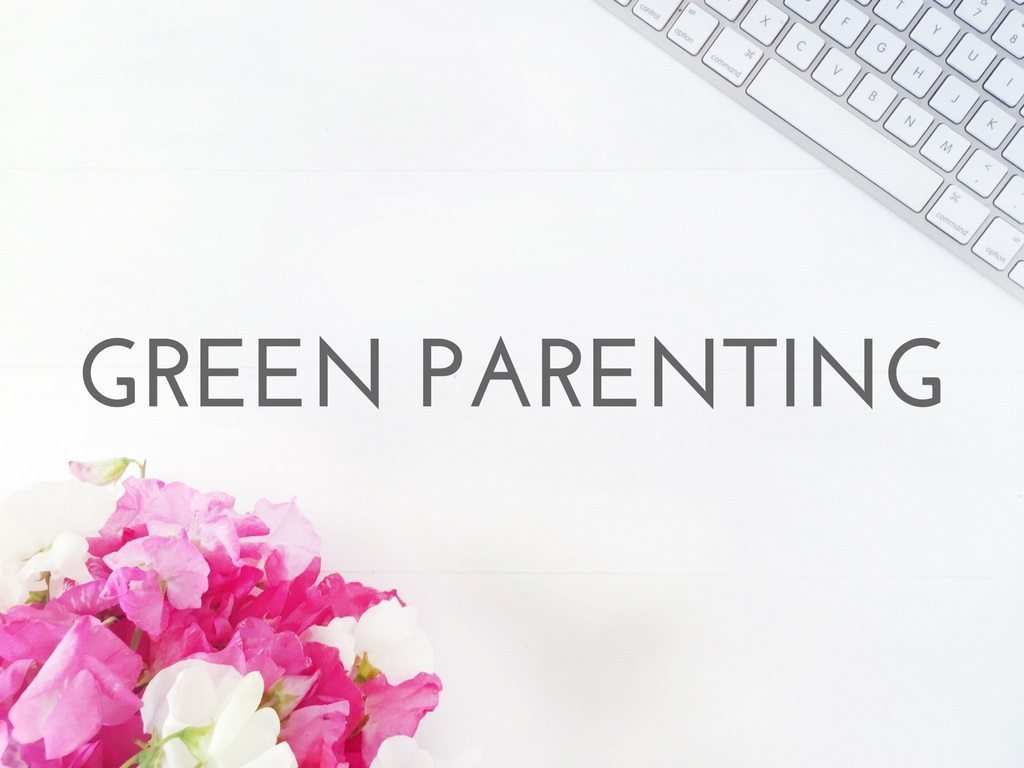 GREEN PARENTING logo