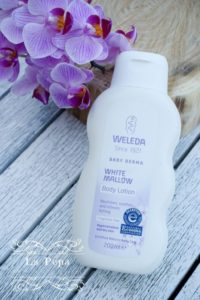 Weleda White Mallow baby lotion review