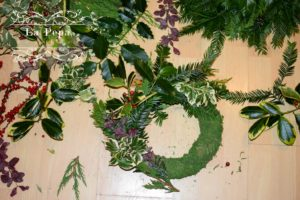 DIY Natural Christmas wreath