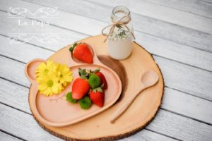 ECO Kids   Wooden Bunny Plate 2