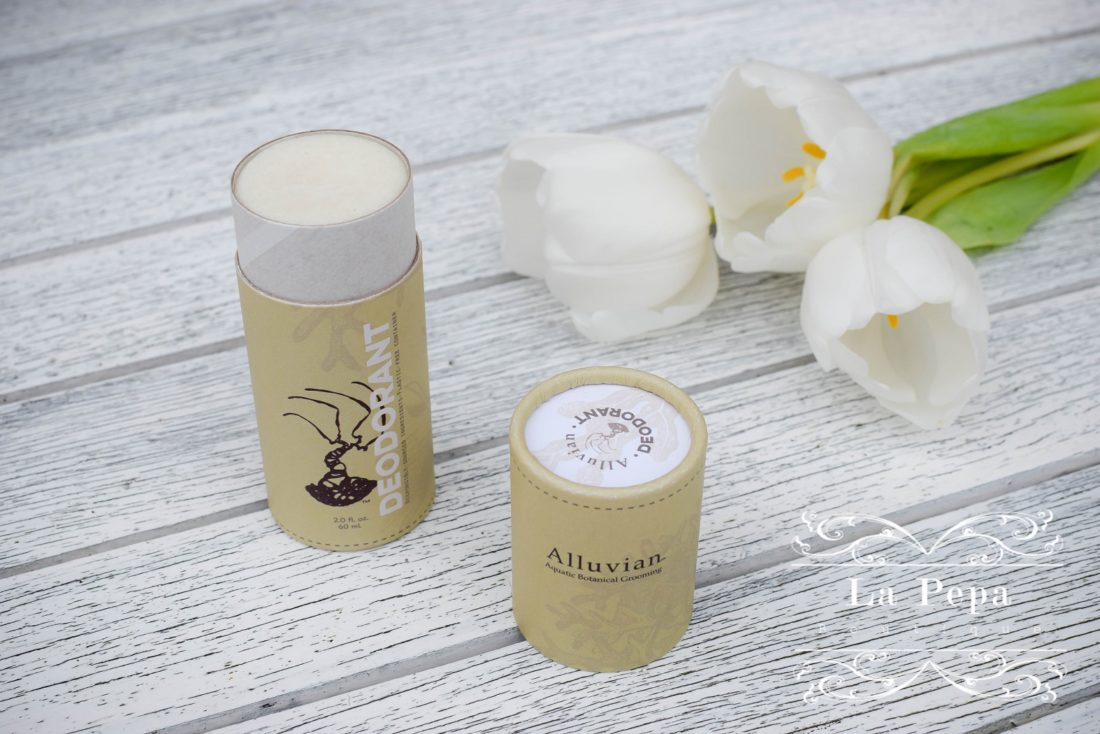 Alluvian Natural Deodorant review