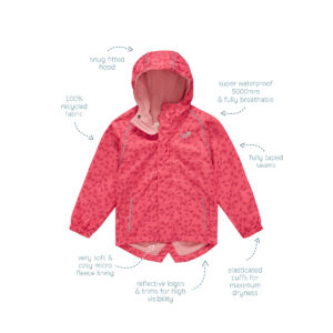 Kids Style | EcoSplash Jacket for Spring splashing 1