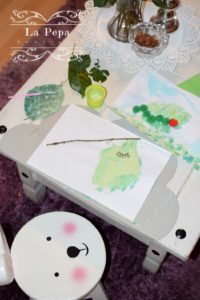 Spring crafts with kids