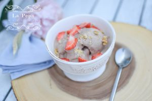 Eco Kitchen | 100% Natural Homemade Banana Chocolate ice-cream