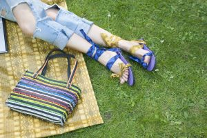Eco Chat | UK Designer Laura Zabo Creates Eco-Friendly Fashion with Upcycled Tyres 4