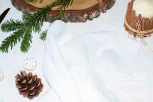 Eco Christmas | A Luxury Look with Natural Table Linen