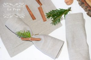 Eco Christmas | A Luxurious yet Natural Look with Table Linen 5
