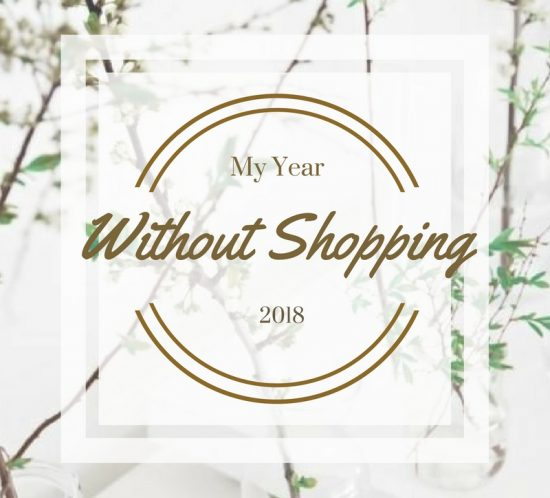 2018 Challenge | My Year Without Shopping