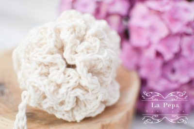 Eco Chic | Crochet Organic Cotton Loofah