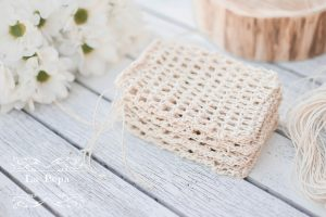 Keep it Simple | Crochet Hemp Dishcloth and Soap Saver 7
