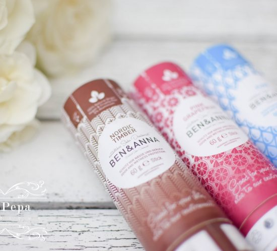 Review | Plastic-Free Natural Ben & Anna Deodorants